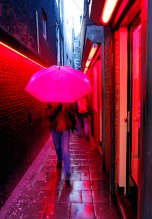 amsterdam red light district asian