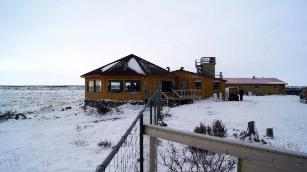 Comforts of home ... Seal River Lodge on Hudson Bay.