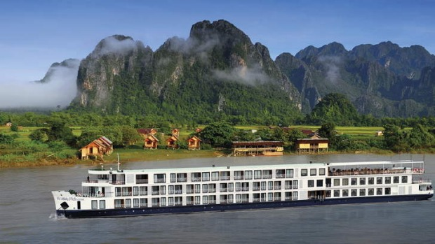 Tranquil ... RV AmaLotus on the Mekong River. A cruise on this vessel includes a butler service and a Luke Nguyen ...