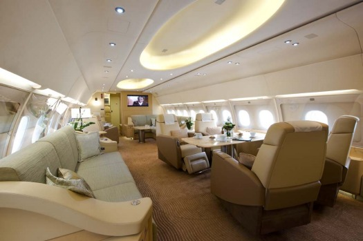 for billionaires not millionaires inside airbus 39 luxury private jet. Black Bedroom Furniture Sets. Home Design Ideas