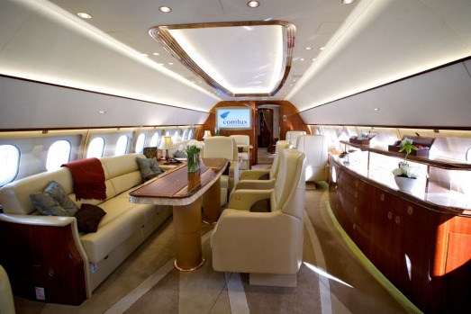For Billionaires Not Millionaires Inside Airbus39 Luxury Private Jet