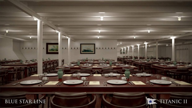 The third class dining room.