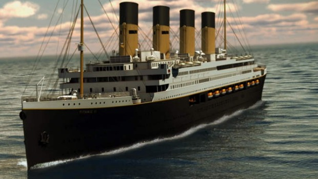Clive Palmers Titanic II cruise ship now set for 2022 launch date