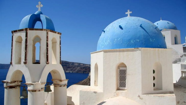 Australians spend more and stay longer in Greece than any other nationalities.