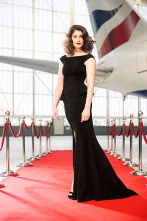 Actress Gemma Arterton launches British Airways 'Red Carpet Route' to Los Angeles, which will be operated on its ...