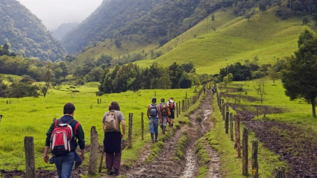 Mud, mountains and adventure in Colombia.