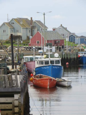 Peggy's Cove at Halifax.
