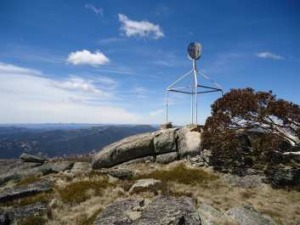 A vista from atop Mt Bimberi – the ACT's highest peak