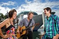 Country cruisers ... Amber Lawrence, Troy Cassar-Daley and Adam Harvey will perform for seven night on a cruise through ...