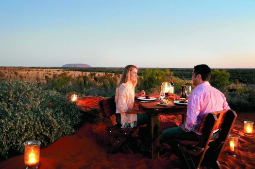 Longitude 131, built at the gateway to Uluru-Kata Tjuta National Park. The experience A silk touch among the rugged ...
