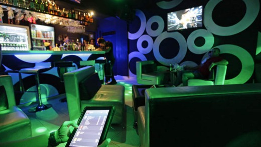 The new '3-D Cafe'.