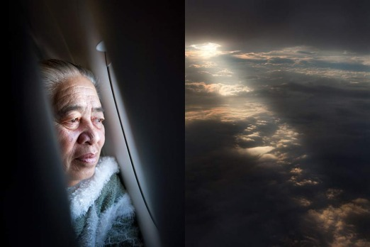 Te Aro: <i>flying back to her adopted home, Auckland - Elizabeth, originally from Samoa</i>