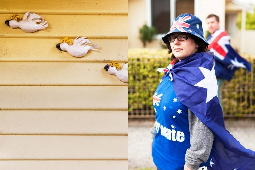 Footscray: <i>patriotism in the burbs - Australia Day, West Footscray</i>