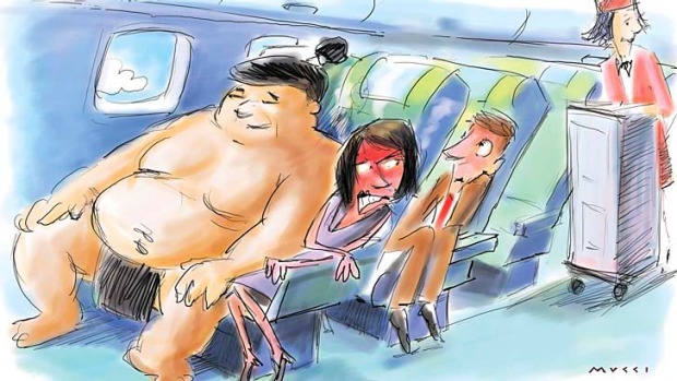 A Norwegian business professor has proposed that air travellers should have to pay more if they weigh more. ...