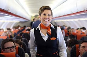 Cabin crew service on EasyJet is both functional and helpful.