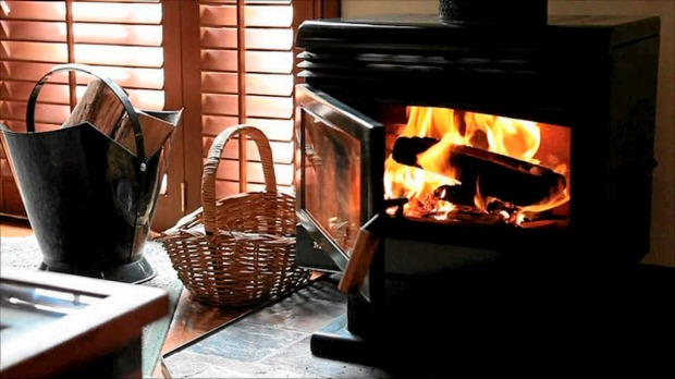 Lower temperatures on the mountain make the fireplace an attractive prospect.