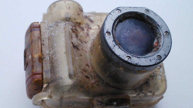 The waterproof Canon camera was lost in Hawaii in 2007, showing up on a beach in Taiwan last month.