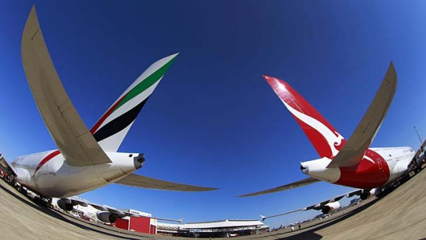 New-look: The Qantas and Emirates alliance will deliver a number of benefits for passengers, including up to 30kg ...