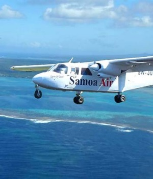 "Samoa Air has introduced a ""pay what you weigh"" pricing policy."