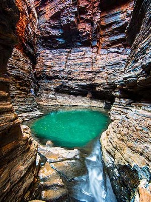 Weano Gorge at the Karijini National Park in northern WA.