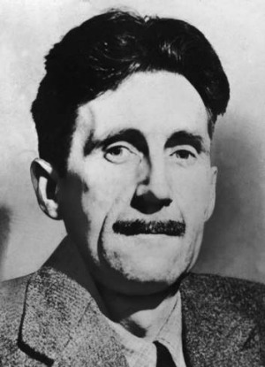 British author George Orwell circa 1945.