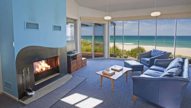 Blue surrounds: Apollo Bay's Chocolate Gannets offers five-star luxury and glorious ocean vistas.