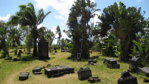 Rogue's gallery: The pirate cemetery at Ile Sainte-Marie.