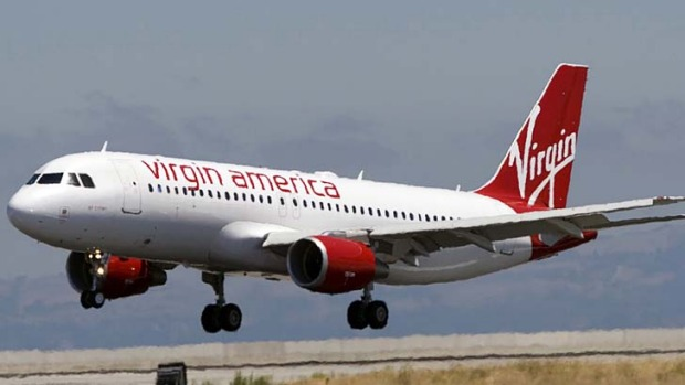 Virgin America has been named the best airline in the US.