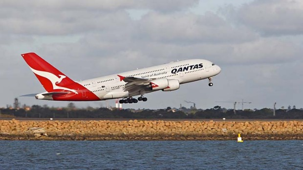 Under fire: Qantas' contentious decision to alter its inflight service.