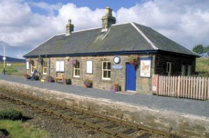 Scotscalder railway station