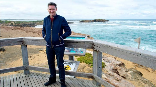 Warrnambool boy ... comedian Dave Hughes.