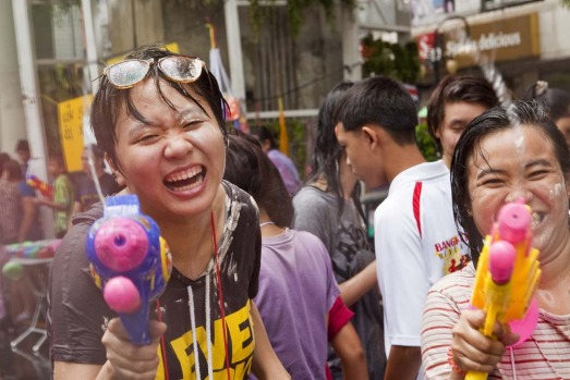 The Songkran festival marks the traditional Thai New Year and is celebrated each year from April 13 to 15. The throwing ...
