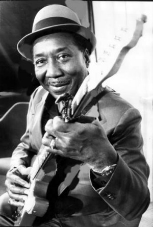 Muddy Waters in Melbourne in 1974.
