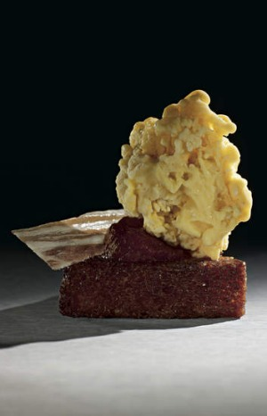 Heston Blumenthal's scrambled egg and bacon ice-cream.