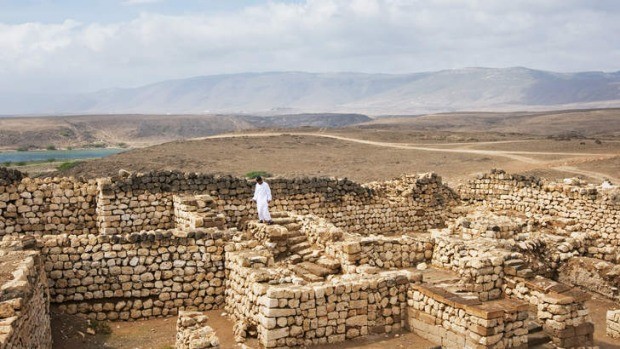 Ruins of the Queen of Sheba's palace.