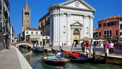 San Barnaba church in Venice.