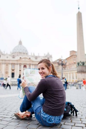 Going solo: Group tours are perfect for single female travellers.