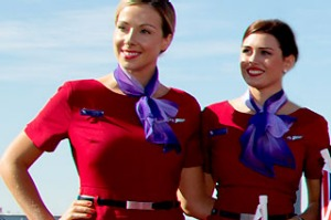 Virgin flight attendants