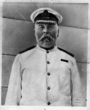 Captain Edward Smith, commander of the RMS Titanic, was one of 670 crew members who went down with the ship.