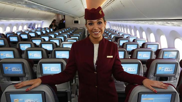 Qatar Airways female flight attendants are forbidden from marrying in the first five years of their service.