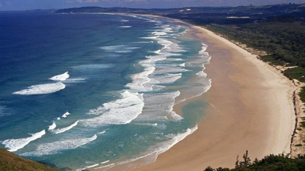Tallow beach, Byron Bay, Australia.