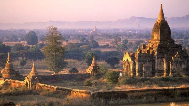 Temples at Bagan in Myanmar.