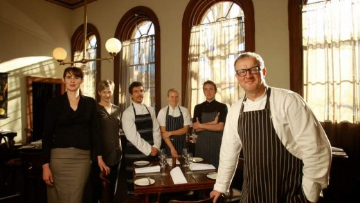 Chef Michael Ryan and the team at Beechworth's Provenance.