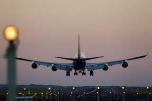 Sydney Airport. Kingsford Smith Airport. Travel. Flying. Aeroplane. Holiday. Aviation. Photographed 25th April 2013. ...