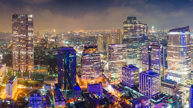 Tourism hit ... Bangkok will be the world's most-visited city in 2013 according to a study.