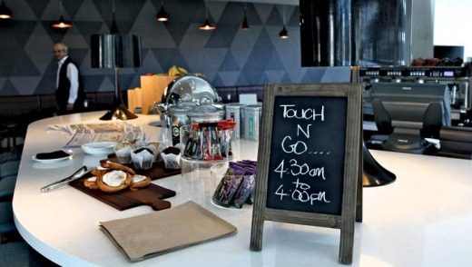 The Rydges Sydney Airport breakfast buffet.