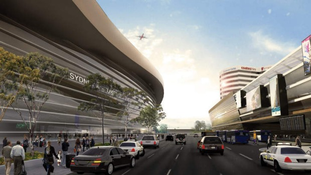 Sydney Airport plans announced included designs for the new passenger terminal.
