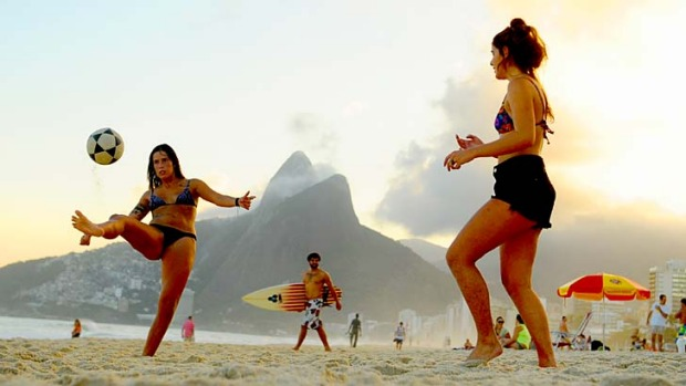 Warning for football fans visitors to rio de janeiro for next year
