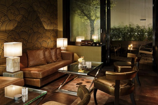 The Cigar Lounge at Summum, The Private Jet Lounge,  Schiphol Airport, Amsterdam.