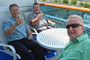 Fwd:  Gary Pitman with travelling companions Ian Short and Garry Partridge, Dubrovnik, Croatia. Image supplied. SHD ...